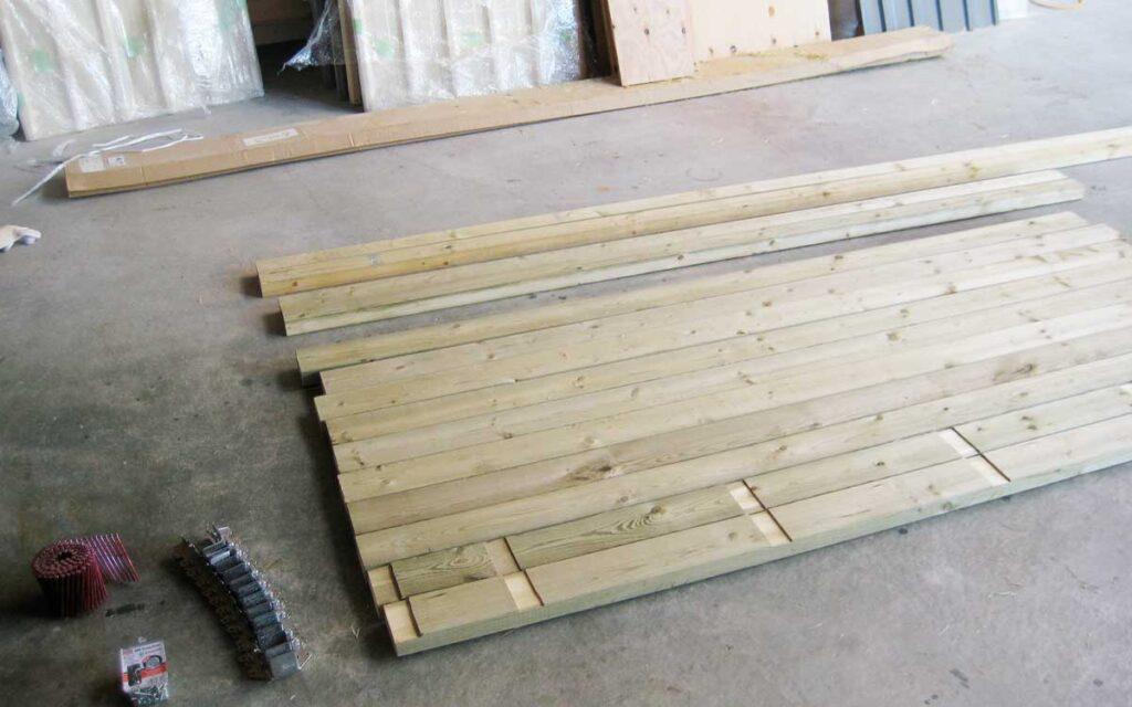 木製床キット