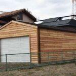 木造ガレージ